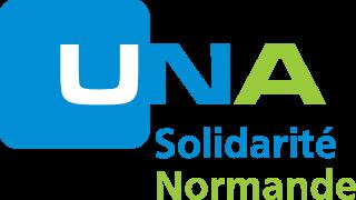 logo una solidarité normande