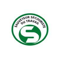 Logo Sauveteur Secouriste Du Travaille Una Solidarite Normande